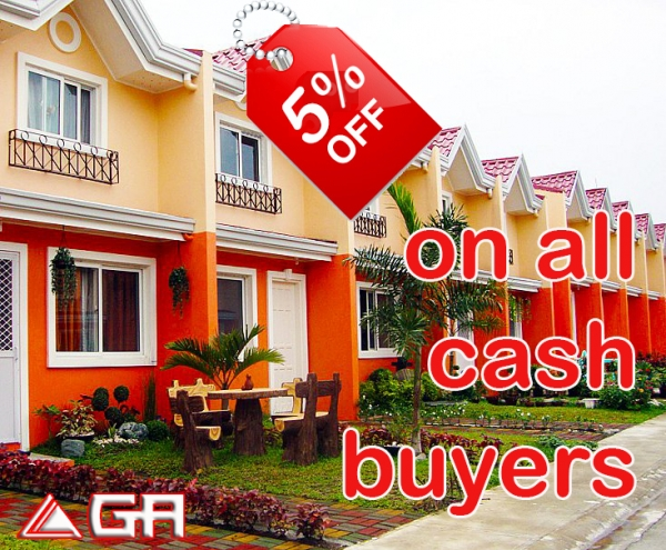 Get 5% discount on all cash purchases